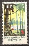 Sellos de Europa - Alemania -  Protección forestal, campamento Woodland-DDR