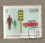 Stamps Germany -  Seguridad tráfico