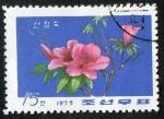 Sellos de Asia - Corea del norte -  Rhodondendrons.