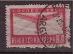 Stamps America - Argentina -  Correo aéreo
