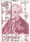 Stamps Spain -  CARLOS IV - Reyes de España. Casa de Borbón (T)