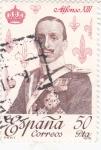 Stamps Spain -  ALFONSO XIII - Reyes de España. Casa de Borbón (T)