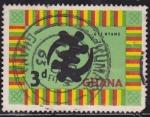 Stamps Ghana -  Intercambio