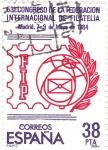 Stamps Spain -  53 Congreso de la Federación Internacional de Filatelia (T)