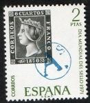 Sellos de Europa - España -  2033- Día mundial del Sello .
