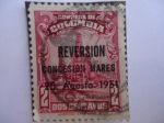 Stamps Colombia -  PETROLERAS