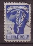 Sellos de America - Argentina -  V cent.
