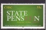 Stamps Ireland -  centenario de las pensiones