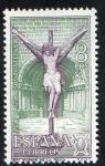 Stamps Spain -  2051- Año Santo Compostelano. Iglesia del Crucifijo , Puente de la Reina ( Navarra ).