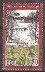 Sellos de Europa - Alemania -  Parques y jardines en DDR(Parque Branitz).