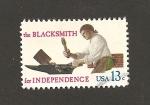 Stamps United States -  Herrero por la independencia