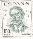 Sellos de Europa - España -  ENRIQUE GRANADOS - Centenario de Celebridades (T)