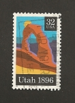 Stamps United States -  Estado de Utah