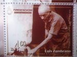 Stamps Venezuela -  LUIS ZAMBRANO -¨Inventor del pueblo para el pueblo¨(9de10)
