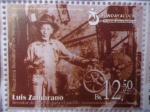 Stamps America - Venezuela -  LUIS ZAMBRANO-¨Inventor del pueblo para el pueblo¨(1de10)