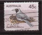 Sellos de Oceania - Australia -  serie- Aves