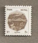 Sellos del Mundo : Asia : Nepal : Construcción
