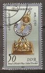 Sellos de Europa - Alemania -   Reloj de sol ecuatorial de 1760-DDR.
