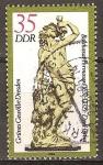 Sellos de Europa - Alemania -  Bóveda Verde en Dresde-DDR.