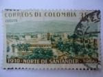 Sellos de America - Colombia -  1910-Norte de Santander-1960 -¨Cúcuta¨