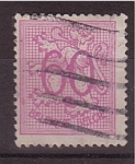 Stamps Belgium -  León Heraldico