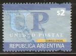 Sellos de America - Argentina -  UNIDAD  POSTAL