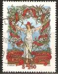 Sellos de Oceania - Austria -  CENTENARIO  DIA  DEL  TRABAJO