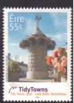 Sellos de Europa - Irlanda -  50 aniv. competición Tidytowns