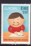 Sellos de Europa - Irlanda -  europa- escribir una carta