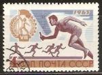 Stamps Russia -  CARRERA  DE  RELEVOS