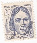 Stamps Czechoslovakia -  Ignác Josef Pesina 1766-1808