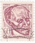 Sellos del Mundo : Europa : Checoslovaquia : R Rolland 1866-1944