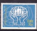 Sellos de Europa - Irlanda -  50 aniv. del C.U.M.I.