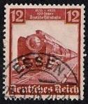 Sellos de Europa - Alemania -  Tren spress