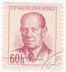 Stamps Czechoslovakia -  Antonín Zapotoky- político