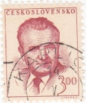 Stamps : Europe : Czechoslovakia :  Klement Gottwald - político