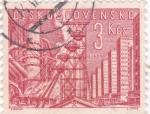 Sellos de Europa - Checoslovaquia -  Panorámica de Kladno