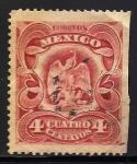 Sellos de America - México -  ESCUDO DE MEXICO.