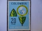 Stamps Colombia -  Instituto Interamericano de Ciencias Agrícolas -OEA- XXV Aniversario
