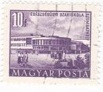 Stamps Hungary -  Edificio Egescegugy Szakiskola