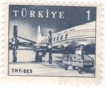 Sellos de Asia - Turquía -  Transporte aéreo