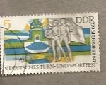Sellos de Europa - Alemania -  Fiesta delDeporte