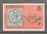 Sellos de America - Dominica -  Centenario Sello