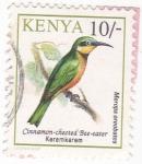Stamps Kenya -  Merops oreobates