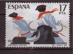 Sellos de Europa - España -  san fermin