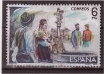 Sellos de Europa - España -  serie- zarzuela
