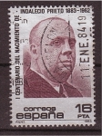 Stamps Spain -  I cent. del nacimiento