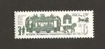 Stamps Russia -  Transporte público, con caballos