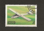 Stamps Russia -  Planeador