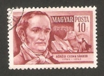 Sellos de Europa - Hungría -  1141 - Sandor Korosi de Csoma, escritor